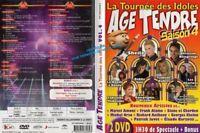 """DVD """" Edad Tender - el Tournee Des Audios - Temporada 4"""""""