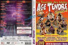 """DVD """"AGE TENDRE - LA TOURNEE DES IDOLES - Saison 4""""  -"""
