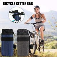 Bike Handlebar Stem 750ml Kettle Bag Cycling Insulated Water Bottle Pouch Bags