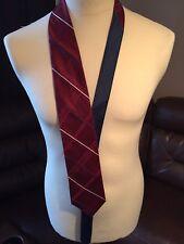 VINTAGE Tommy Hilfiger 100% Cravatta Di Seta