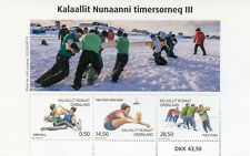 Greenland 2018 MNH Sports in Greenland III Arm Pull Pole Push 3v M/S Stamps