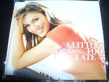 Delta Goodrem A Little Too Late Rare Australian Enhanced CD Single - Like New