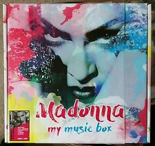 RARE! MADONNA MY MUSIC BOX FIVE COLORED VINYLS LIMITED EDITION 120 COPIES