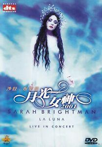 SARAH BRIGHTMAN - DVD - LA LUNA - Live in Concert  ( dts )