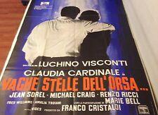MANIFESTO 4F LUCHINO VISCONTI VAGHE STELLE DELL'ORSA CLAUDIA CARDINALE