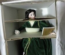 """1989 Franklin Mint Heirloom Scarlett O'HARA Doll """"Gone with the wind"""" with case"""