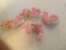 1 Resin Baby Girl Cake Topper /Baby Shower/Birthday/Christenings/retro sweets