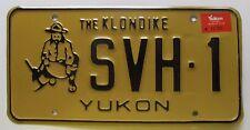 Yukon 1988 THE KLONDIKE MINER License Plate HIGH QUALITY # SVH-1