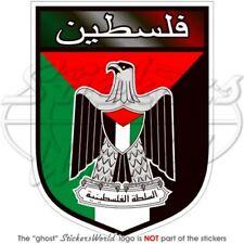 Palestine Écusson État Palestinien, 100mm Vinyl Sticker, Autocollant