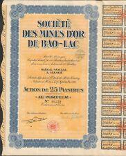 Mines d'OR de BAO-LAC (HANOÏ INDOCHINE) (A)