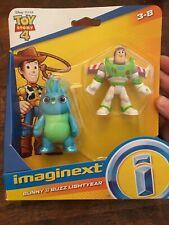 Imaginext Disney Pixar Toy Story 4 Movie Bunny & Buzz Lightyear Figure Set