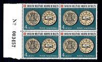 """SMOM - 1970 - Antiche monete dell'Ordine (1) - 4 grani """"NON AES SED FIDES"""""""