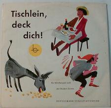 """Mesa de Centro Cubierta Dich Brüder Grimm - Director: Heinz Sch [F40] 7"""" Singles"""