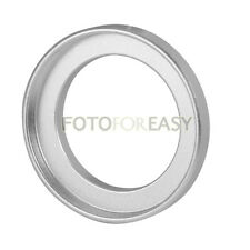 Silver 28mm to 37mm 28mm-37mm Step Up Filter Ring