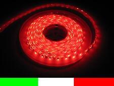 24v 24volt 5m ROSSO IMPERMEABILE LED STRIP STRISCIA ROSSA CAMION C4C1
