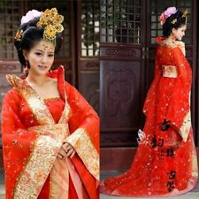 Hot Chinese Traditional Ancient Style Women Dance Dress Cosplay Costume Clothing