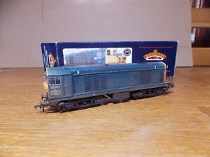 BACHMANN 32-032 CLASS 20 DIESEL LOCO No D8309 in weathered BR Blue Livery