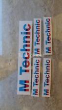 BMW E30 M technic Body Kit Decal E24 E28 Original M tech BIG Sticker 51121919155