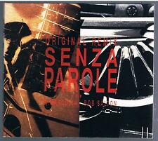 VASCO ROSSI SENZA PAROLE ORIGINAL REMIX CD SINGOLO SINGLE CDs  COME NUOVO
