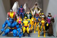 Marvel Legends 6 inch Jim Lee X-Men BIG LOT OF 11 Figures Jubilee Beast Rogue ++