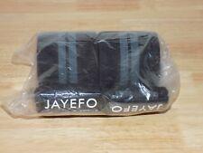 Jayefo Powerlifting Knee Wraps + Wrist Wraps Pair Set Black/Grey