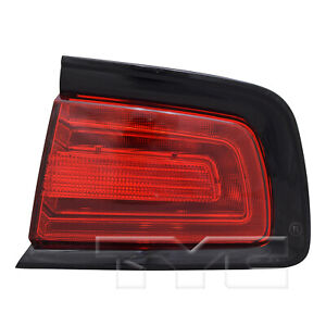 TYC Right Side Tail Light Assembly for Dodge Charger 2011-2014 Models