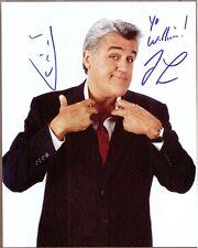 """Jay Leno, Tonight Show Host, Signed 8"""" x 10"""" Photo, COA, UACC RD 036"""