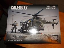 MEGA BLOKS COLLECTOR SERIES, CALL OF DUTY, CHOPPER STRIKE, KIT #06816, NIB, 2014