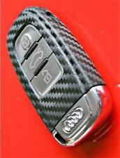 Carbon Fiber Key Audi A4 A5 8K Decal Sticker Decor Coating Fob Wrap Cover Case