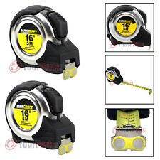 "2 Pack Maxcraft 60403 16' by 3/4"" Auto Locking Tape Measure Metric & Standard"