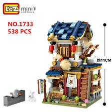 538 PCS LOZ MINI Blocks Kids Building Toys DIY Puzzle Chinatown Store 药房 1733