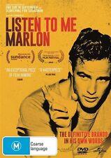 Listen To Me Marlon (DVD, 2015) REGION-2,4,5, LIKE NEW, FREE POST IN AUSTRALIA