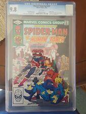 Marvel Team-Up Spider-Man   BERRY ALLEN & IRIS WEST COVER CAMEO  121 CGC 9.8