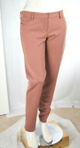 Pantaloni Donna VIOLET ATOS LOMBARDINI H111 Gamba Dritta Marrone Caramello Tg 46