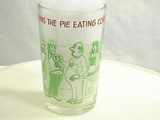 1973 ARCHIE COMICS GLASS JUGHEAD WINS THE PIE EATING CONTEST WELCH`S JELLY JAM