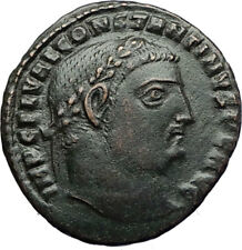 CONSTANTINE I the GREAT Authentic Ancient 315AD Roman Coin JUPITER EAGLE i71106