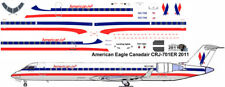 American Eagle CRJ 700 decals for 1/144 kits