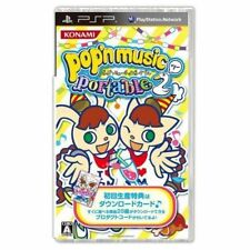Used PSP  Pop'n Music Portable 2 Konami  SONY PLAYSTATION JAPAN IMPORT