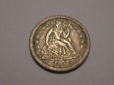 1857 O Seated Liberty Dime (AU & Attractive)