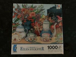 Ceaco 1000 pc Jigsaw puzzle ELLEN STOUFFER Give Us This Day