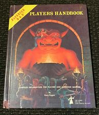 Dungeons and Dragons Players Handbook 6th Printing January 1980
