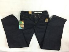 Women's DNKY Soho Mid Rise Boot cut #430 Dark Stretch Blue Jeans Size 2 R NWT
