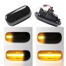 For Audi A4 B6 B8 B7 A6 S6 C7 Dynamic Smoke LED Side Marker Blinker Signal Light