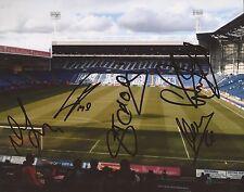 West Brom F.C firmato 10x8 Ground PHOTOX 5+COA * tchoyi, CASA, TAMAS si è, shorey *