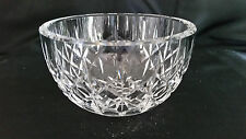 "Waterford Crystal Lisemore Open Sugar Bowl 2 1/8"" MINT Signed"