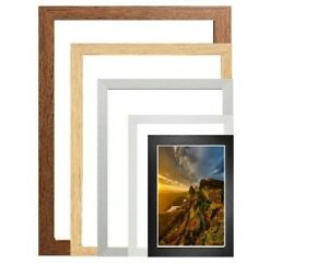 Panoramic Picture Frames Poster Frames Photo Frames All Sizes Wood Frame
