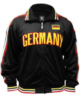 GERMANY Ghast Olympics Soccer World Cup Full Zip Adult Men's Track Jacket BNWT