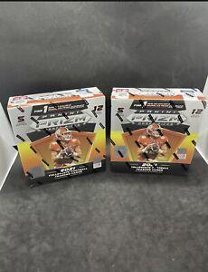 (2) 2021 Panini Prizm NFL Draft Picks Mega Box  Sealed Orange Ice Auto NEW Lot