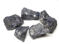 5 LB LOT OF GEM BLUE IOLITE ROUGH FROM INDIA