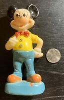 Vintage Mickey Mouse 1970 Plastic Figure Walt Disney